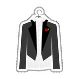 Party suit icon image Royalty Free Stock Photo