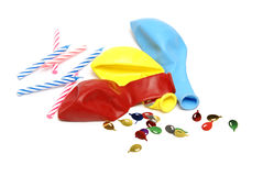 Party Supplies Stock Image