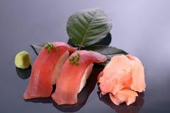 party sushimagasinet Royaltyfri Bild
