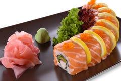 party sushimagasinet Arkivfoton