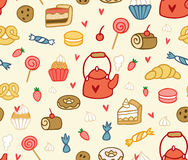 Party sweets and treats  Royalty Free Stock Photos