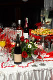 Party table Stock Photo