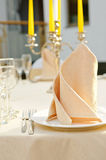 Party table setting Royalty Free Stock Image