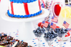 Party table Royalty Free Stock Images