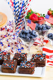Party table Royalty Free Stock Photography