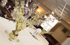 Party. Table wedding reception decoration Stock Photography
