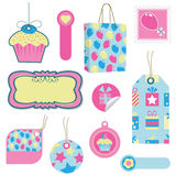 Party tags Stock Images