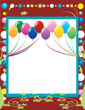 Party Template 4 Royalty Free Stock Images
