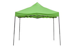 Party tent on white background. Green party tent on white background Stock Photos