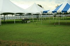 Party Tents Stock Photography