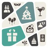 Party theme abstract background Royalty Free Stock Photo