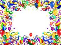 Party Theme Frame Stock Image