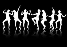 Party Time. Jpg + eps 8 vectors Stock Photography