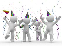 It is party time Stock Photo