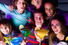 PARTY TIME Stock Image