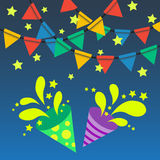 Party time background Stock Images
