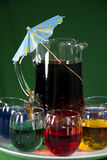 Party-time - Colorful Beverages Stock Images