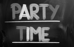 Party Time Concept Stock Image