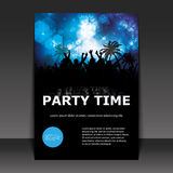 Party Time - Flyer or Cover Design Royalty Free Stock Images