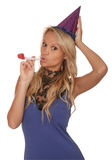 Party Time Girl Royalty Free Stock Photo