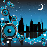 Party town stock illustration