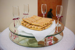 Party treats. Ready to celebrate. Stock Image