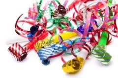 Party whistle Stock Photo