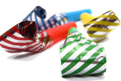Party whistle Royalty Free Stock Photography