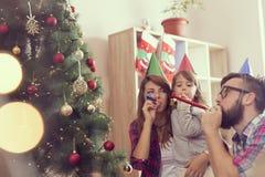 Party whistles fun royalty free stock image
