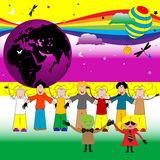 Party With Children Royalty Free Stock Images