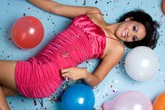 Party Woman Royalty Free Stock Photo