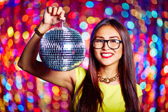 Party woman Royalty Free Stock Photography