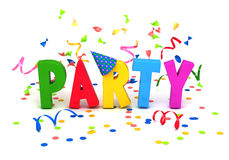 Party word. Royalty Free Stock Images