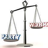 Party or work Stock Photo