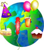Party world Stock Photography