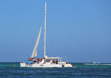 Party yacht in Punta Cana, Dominican Republic Stock Photography