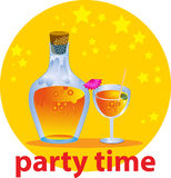 Party Zeit Lizenzfreies Stockbild