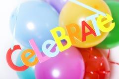 Partyballone Lizenzfreie Stockfotografie
