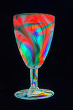 Colorful party beaker Royalty Free Stock Images