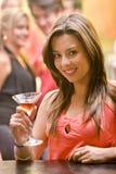 Partyfrau Stockbild