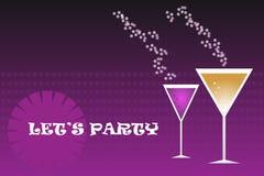 Partygetränke - Vektor vektor abbildung
