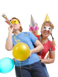 Partygruppe Stockfoto