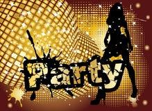 Partyhintergrund Stockfotografie
