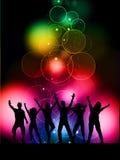 Partyhintergrund Lizenzfreie Stockbilder