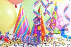 Partyhintergrund des neuen Jahres Stockbild