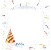 Partyhintergrund mit Exemplarplatzbereich Lizenzfreie Stockbilder
