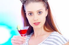 Partying Royalty Free Stock Photo