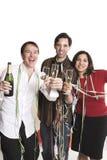 Partying dos povos Imagem de Stock Royalty Free