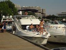 Partying no Potomac Imagens de Stock Royalty Free