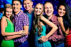 Partying samen Stock Fotografie